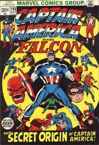 Cover Thumbnail for Captain America (Marvel, 1968 series) #155
