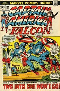 Cover Thumbnail for Captain America (Marvel, 1968 series) #156