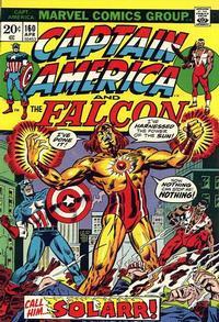 Cover Thumbnail for Captain America (Marvel, 1968 series) #160 [Regular Edition]
