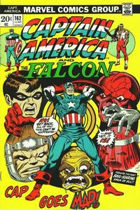 Cover for Captain America (Marvel, 1968 series) #162 [Regular Edition]