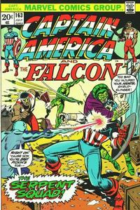 Cover Thumbnail for Captain America (Marvel, 1968 series) #163 [Regular Edition]