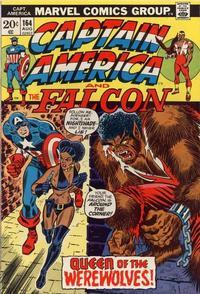 Cover Thumbnail for Captain America (Marvel, 1968 series) #164 [Regular Edition]