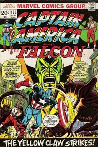 Cover Thumbnail for Captain America (Marvel, 1968 series) #165 [Regular Edition]