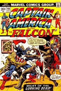 Cover Thumbnail for Captain America (Marvel, 1968 series) #166 [Regular Edition]