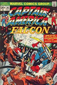 Cover Thumbnail for Captain America (Marvel, 1968 series) #167 [Regular Edition]