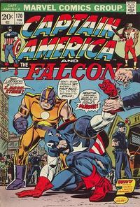 Cover for Captain America (Marvel, 1968 series) #170 [Regular Edition]
