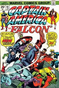 Cover Thumbnail for Captain America (Marvel, 1968 series) #181 [Regular Edition]