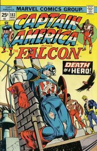 Cover Thumbnail for Captain America (Marvel, 1968 series) #183 [Regular Edition]