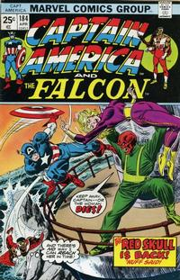 Cover Thumbnail for Captain America (Marvel, 1968 series) #184 [Regular Edition]