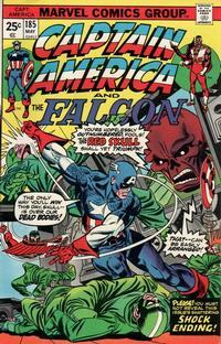 Cover Thumbnail for Captain America (Marvel, 1968 series) #185