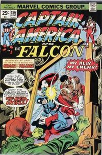 Cover for Captain America (Marvel, 1968 series) #186 [Regular Edition]