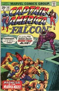 Cover Thumbnail for Captain America (Marvel, 1968 series) #187 [Regular Edition]