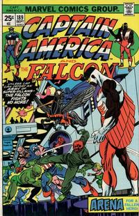 Cover Thumbnail for Captain America (Marvel, 1968 series) #189 [Regular Edition]