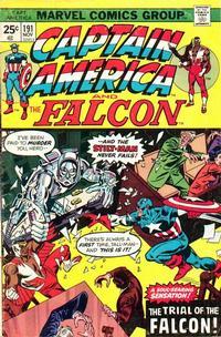 Cover Thumbnail for Captain America (Marvel, 1968 series) #191 [Regular Edition]