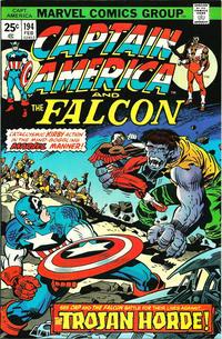 Cover Thumbnail for Captain America (Marvel, 1968 series) #194 [Regular Edition]