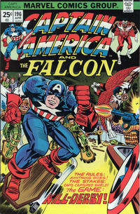 Cover Thumbnail for Captain America (Marvel, 1968 series) #196 [25¢ Cover Price]