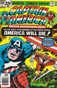 Cover Thumbnail for Captain America (Marvel, 1968 series) #200 [25¢]