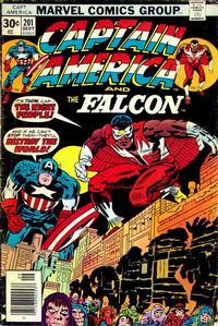 Cover Thumbnail for Captain America (Marvel, 1968 series) #201 [Regular Edition]