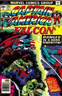 Cover Thumbnail for Captain America (Marvel, 1968 series) #202 [Regular Edition]