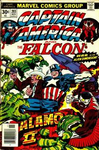 Cover Thumbnail for Captain America (Marvel, 1968 series) #203 [Regular Edition]