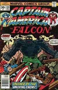 Cover Thumbnail for Captain America (Marvel, 1968 series) #204 [Regular Edition]