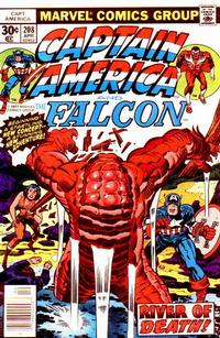 Cover Thumbnail for Captain America (Marvel, 1968 series) #208 [Regular Edition]