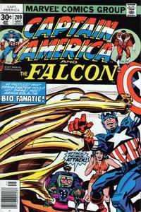 Cover Thumbnail for Captain America (Marvel, 1968 series) #209 [Regular Edition]