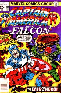 Cover Thumbnail for Captain America (Marvel, 1968 series) #212 [30¢ Cover Price]