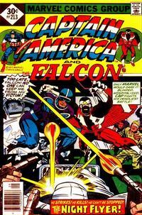 Cover Thumbnail for Captain America (Marvel, 1968 series) #213 [Whitman Edition]