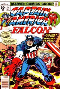 Cover Thumbnail for Captain America (Marvel, 1968 series) #214 [30¢ Cover Price]