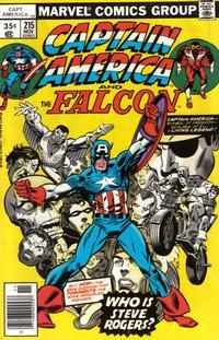 Cover Thumbnail for Captain America (Marvel, 1968 series) #215 [Regular Edition]
