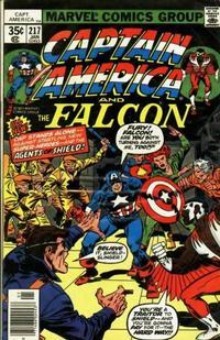 Cover Thumbnail for Captain America (Marvel, 1968 series) #217 [Regular Edition]