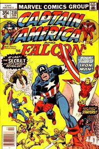 Cover Thumbnail for Captain America (Marvel, 1968 series) #218 [Regular Edition]