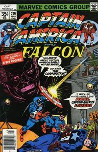 Cover Thumbnail for Captain America (Marvel, 1968 series) #219 [Regular Edition]