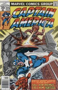 Cover for Captain America (Marvel, 1968 series) #223 [Regular Edition]