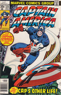 Cover Thumbnail for Captain America (Marvel, 1968 series) #225 [Regular Edition]