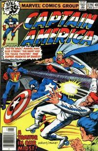 Cover Thumbnail for Captain America (Marvel, 1968 series) #229 [Regular Edition]