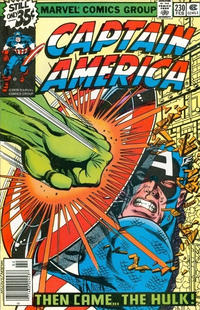 Cover Thumbnail for Captain America (Marvel, 1968 series) #230 [Regular Edition]