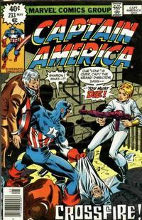 Cover for Captain America (Marvel, 1968 series) #233 [Regular Edition]