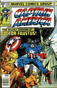 Cover Thumbnail for Captain America (Marvel, 1968 series) #236 [Newsstand Edition]