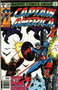 Cover Thumbnail for Captain America (Marvel, 1968 series) #238 [Newsstand Edition]