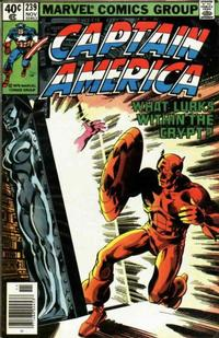 Cover Thumbnail for Captain America (Marvel, 1968 series) #239 [Newsstand Edition]