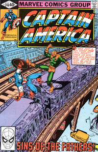 Cover Thumbnail for Captain America (Marvel, 1968 series) #246 [Direct Edition]
