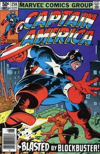 Cover Thumbnail for Captain America (Marvel, 1968 series) #258 [Newsstand Edition]