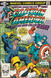 Cover Thumbnail for Captain America (Marvel, 1968 series) #261 [Direct Edition]