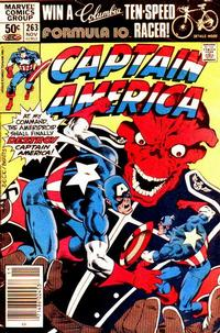 Cover Thumbnail for Captain America (Marvel, 1968 series) #263 [Newsstand Edition]