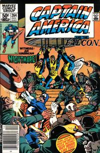 Cover Thumbnail for Captain America (Marvel, 1968 series) #264 [Newsstand]