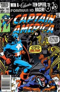 Cover Thumbnail for Captain America (Marvel, 1968 series) #265 [Newsstand]