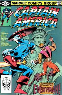Cover Thumbnail for Captain America (Marvel, 1968 series) #267 [Direct Edition]