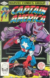 Cover Thumbnail for Captain America (Marvel, 1968 series) #270 [Direct Edition]